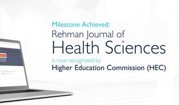 Rehman Journal of Health Sciences gets Recognised by HEC